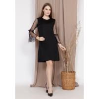 Yoenik Apparel Wikan Tulle Dress Black M15409 R94S3