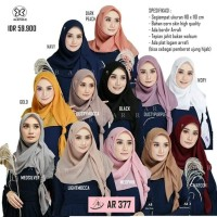 Hijab Segi Empat Polos Arrafi AR 377