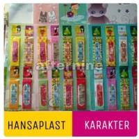 Hansaplast Karakter isi 5 - Tensoplast - Band Aid - Plester Luka P3K
