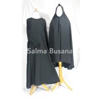 Setelan Gamis Syar'i Wanita - Semi Umbrella