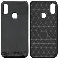 Armor Thin TPU Case Xiaomi RedMi Note 7 - Casing Black Soft Original