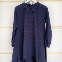 nalini-NILA KARISMA Lurik Telupat tunik atasan blouse kemeja wanita