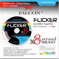 Senar PE X8 FALCON FLICKER BRAIDED PE - PE 0.6