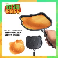PROMO BUY ONE GET ONE FREE Teflon Frying Pan Hello Kitty for pancake