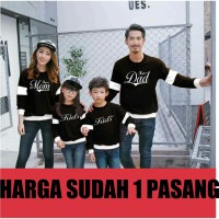 FAMILY COUPLE/FAMILY PASANGAN/BAJU COUPLE KELUARGA DAD MOM KIDS