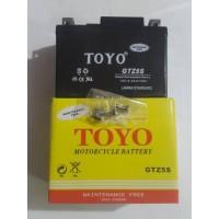 Aki motor Honda Verza 150 TOYO GTZ5S 4 AH (KERING)