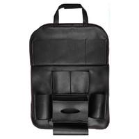 ONEVER Car Seat Back Hanging Organizer Storage Bag Universal Leather