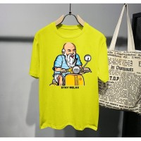 Kaos Distro Pria Orang Tua Stay Relax Atasan Pria T-shirt Pria