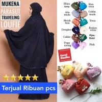 Mukena Parasut Traveling Loufie Travel Dewasa Jumbo Murah Cantik