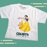 Baju Kaos Dewasa Disney Princess SK Fashion