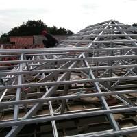 terima jasa dan pemasangan rangka atap baja ringan + matrial