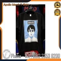 Kaos Baju Band Tshirt Oasis Mancity | Bahan Cotton Combed 30s