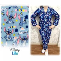 baju tidur wanita / cewek piyama karakter little stitch Pp
