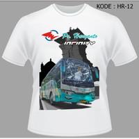 Kaos Bus PO Haryanto Baju Bus Shd Jetbus Bismania busmania HR-12