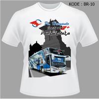 Kaos Bis Po Haryanto, Baju Bus, Bismani busmania bus po haryanto HR-10