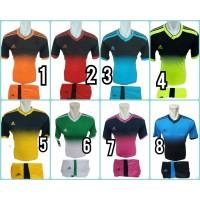 Setelan Jersey Timnas Sepak Bola Baju & Celana Futsal Pria/ Wanita