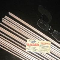 Kayu Balsa Stick, 1Meter X 3Mm X 3Mm