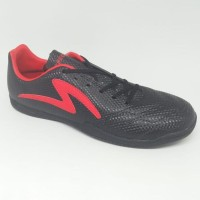 Sepatu futsal specs original RICCO black/red new 2018