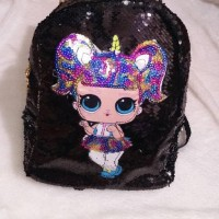 Terpopuler ! Tas SEQUIN UNICORN Little Pony / Tas Fashion Anak Unicorn