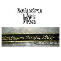 SELEMPANG WISUDA BEST SELLER BLUDRU LIST PITA READY STOCK - 6