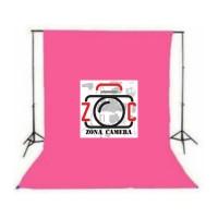 Backdrop Kain Foto Pink Background Layar Kaos Muslin Studio Photo Ping