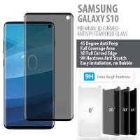Samsung Galaxy S10 PREMIUM 3D Curved Anti Peep Antispy Tempered Glass
