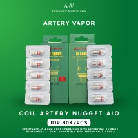 Coil Artery Nugget AIO IP CORES 100% Authentic By Artery