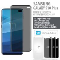 Samsung Galaxy S10 Plus - PREMIUM 3D Anti Peep Antispy Tempered Glass