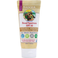 Badger Sunscreen SPF30 (87ml) Krim Tabir Surya Anti Air Badger Sunblok
