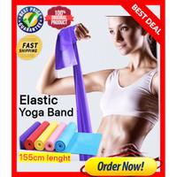 Elastic Karet Tension Resistance Stretch Band Gym Pilates Yoga PREMIUM