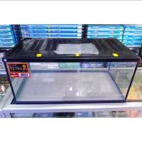 Aquarium Nikita 60 R + TUTUP / AQUARIUM Hamster dan Reptil