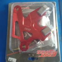 Kaliper - Penutup - Cover - Pelindung Cakram Rem Motor Honda-Merah