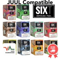 SIXT Pods USA for JuuL 100% Authentic