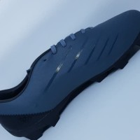 Sepatu Bola Specs Swervo Galactica Pro FG Shadow Blue Black Silver