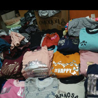paket usaha sisa baju eksport 20 baju