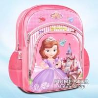 Tas Anak Sekolah Tk Ransel Backpack Sofia The First Princess 12-01