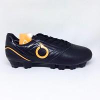 ``TErmurah|| Kicosport Sepatu bola ortuseight Genesis FG black orange