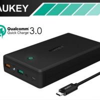 STOK TERBARU Powerbank AUKEY 30000mAh Quick Charge 3 0 QC3 0 Power Ba
