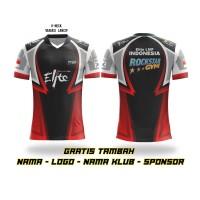 Kaos Baju jersey jersy game esport gaming pubg freefire custom print