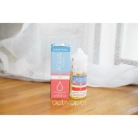 Liquid Vape SALT NIC USA EJM Aqua Salts Pure Menthol 35mg Strawberry