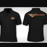 Polo shirt Pria Kaos Kerah Big Size XXXXL 4XL Harley Davidson