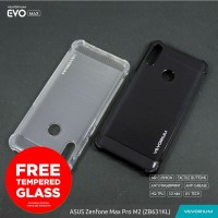 VEVORIUM EVO MAX Asus Zenfone Max Pro M2 ZB631KL Soft Case Anti Crack