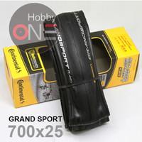 Continental Grand Sport Race 700x25 Foldable Ban Luar Roadbike