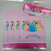 plastik snack princess / kantong snack princess / plastik bingkisan