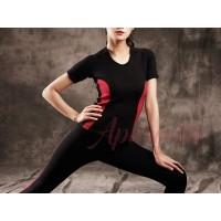Aphrodite Series: Baju fitness bio energy / baju gym / baju yoga/senam - XS