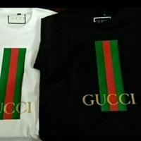 T-shirt Pria Kaos Big Size 5XL 6XL Gucci - Terlaris Murah
