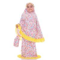 Mukena Anak Karakter Baju Muslim Anak Bahan Katun Jepang Shabby Kids