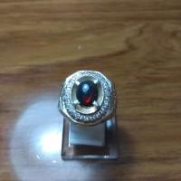 Cincin batu opal kalimaya etiopia hitam.