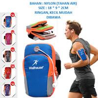 Armband Sport tas lengan hp olahraga - Ungu