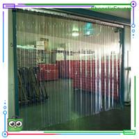 Murah tirai plastik penyekat ruangan (PVC Curtain)lebar 20 cm p:1m